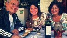 Daniela Miyuki Kuroiva et sa famille.