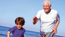 grandpa and kid