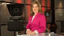 Julie Carpentier, chef d'antenne et présentatrice du Téléjournal en C.-B. et au Yukon. | Photo de Radio-Canada Colombie-Britannique et Yukon