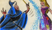 La bonne fée marraine de Cendrillon. | Illustration par Tom Simpson