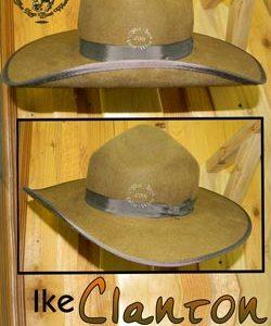 Ike Clanton Custom Handmade Hat