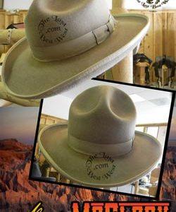 Byron McElroy Custom Handmade Hat