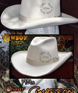 Cimarron Custom Handmade Hat