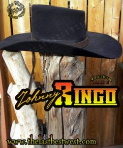 Johnny Ringo Custom Handmade Hat