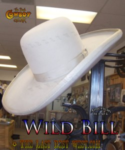 Wild Bill Movie Hat