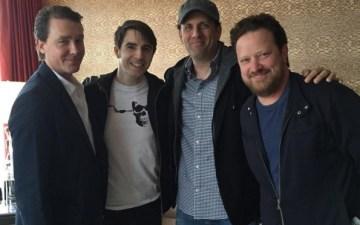 (From L to R: Brian Burns, Mark Seman, Sean Anders, John Morris)