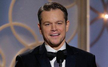 Matt Damon Golden Globes 2016