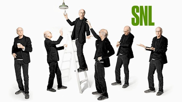 Larry David SNL Bumpers