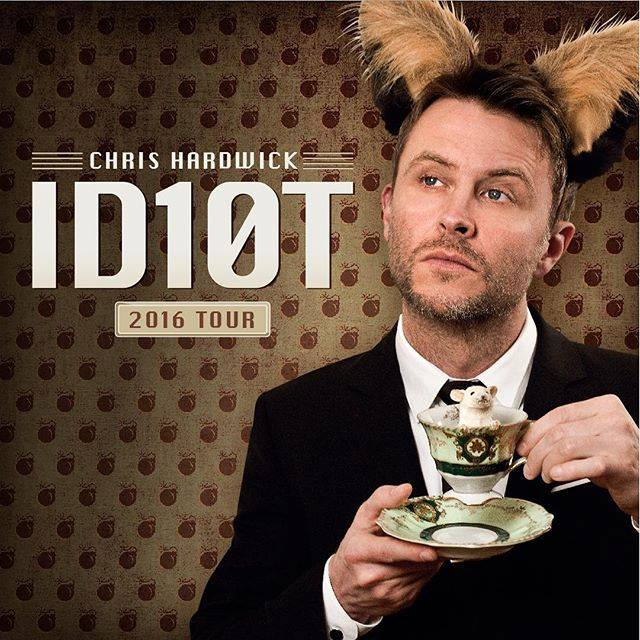 "Chris Hardwick announces ""The ID10T Tour"" this summer"