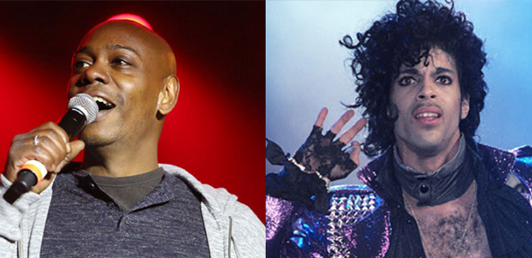 "Dave Chappelle breaks his silence about Prince, ""This is Black 9/11"""