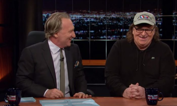 Bill Maher Michael Moore