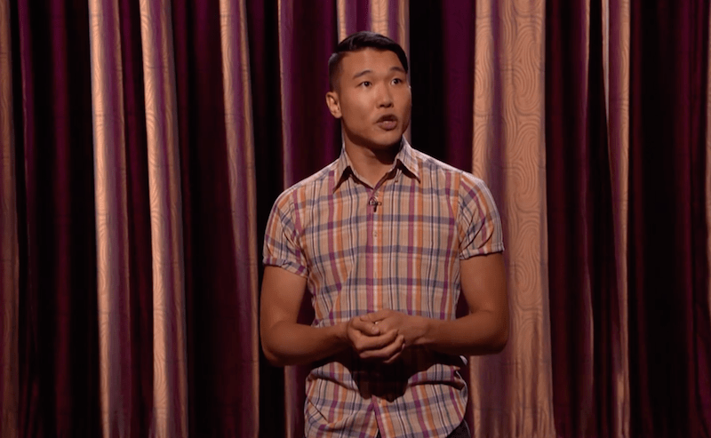 "Joel Kim Booster on Conan, ""I knew I was gay before I was Asian"""