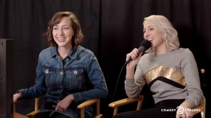 Kristen Schaal and Nikki Glaser