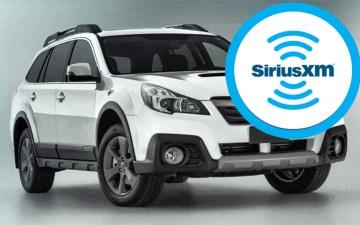 Subaru and SiriusXM