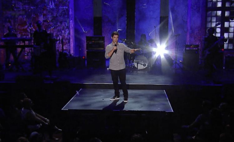"Watch Adam Devine tackle Blink-182's ""All the Small Things"" for the Goddamn Comedy Jam"
