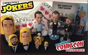 Impractical Jokers NYCC Prize Pack