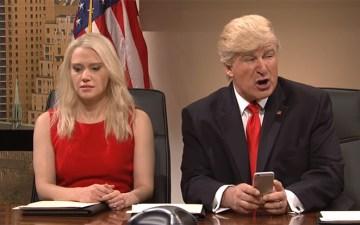 SNL Trump Tweet