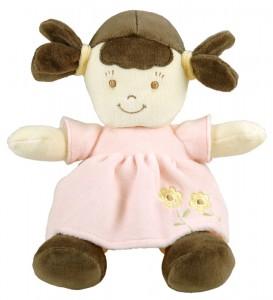 PINK brunette doll