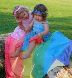 Sarah's Silks rainbows and cherubs