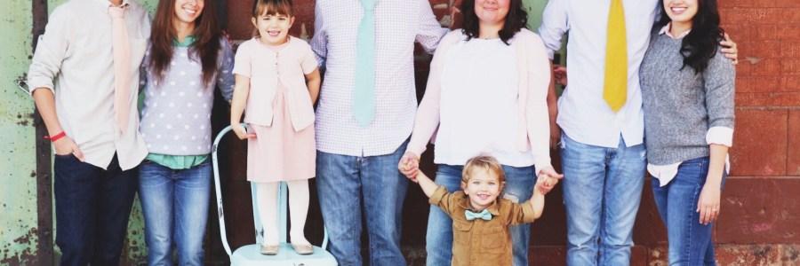 Joni Edelman and family