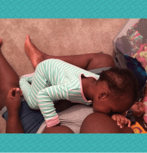 """The first question I get from other black moms should not be """"what type of formula do you use?"""" and I should not get a look of disgust when I say that I am breastfeeding."""