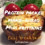 Make Ahead Lactation Breakfast Mini-Frittatas
