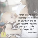 Breastfeeding in Public- You've Got This