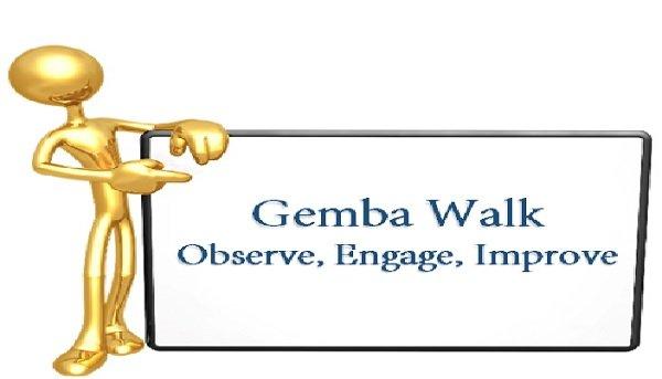 Gemba Walk Boards : The daily senior leadership gemba walk lean