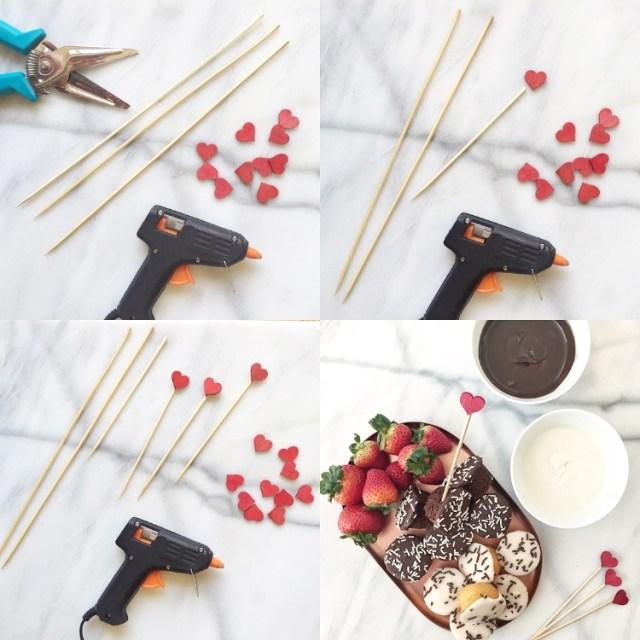 Valentines Skewer DIY
