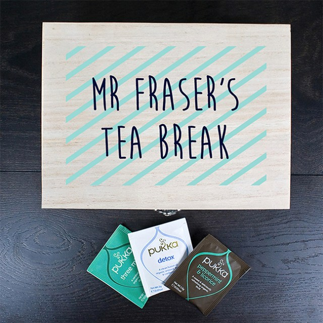 Teachers Tea Box