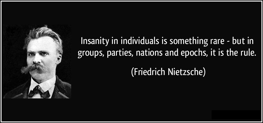 """an analysis of nietzsches quote god is dead Comments on nietzsche's on truth and lie in the  it is notable that """"truth"""" is in quote  up the concept heaven by where each conceptual god."""