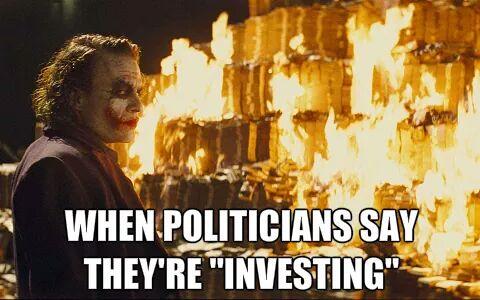 politcians investing subsidies