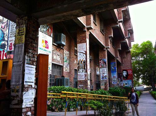 JNU Campus. Image via Wikimedia Commons