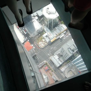 View down from Sky Tower