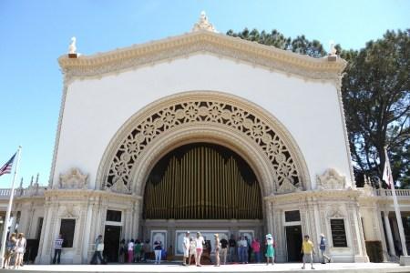 Urban Green Space Spreckels Organ Pavilion