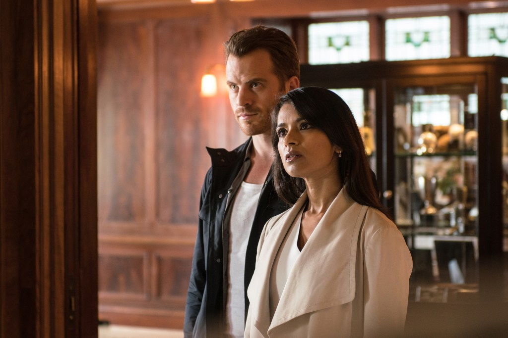 "SECOND CHANCE: L-R: Rob Kazinsky and Dilshad Vadsaria in the ""From Darkness, The Sun"" episode of SECOND CHANCE airing Wednesday, Jan. 27 (9:00-10:00 PM ET/PT) on FOX. ©2016 Fox Broadcasting Company. Cr: Ed Araquel/FOX"