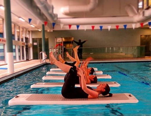 An Aquafit class / Aquaphysical website