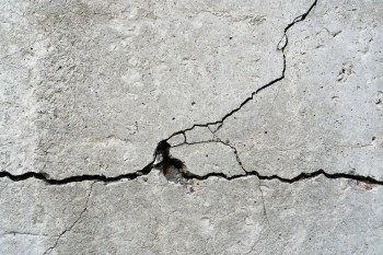 BacillaFilla is a super material that can glue together cracked concrete