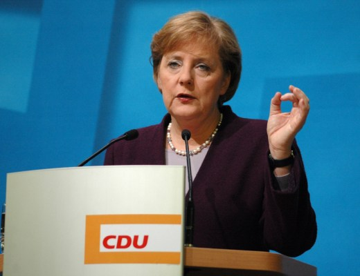 Chancellor of Germany Angela Merkel one of the World's Most Powerful Women