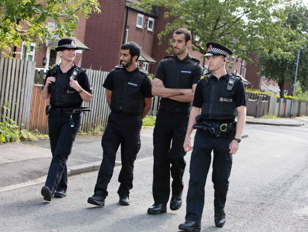Qatar Officers are training with the Greater Manchester Police to prepare for the FIFA 2022 World Cup in Qatar