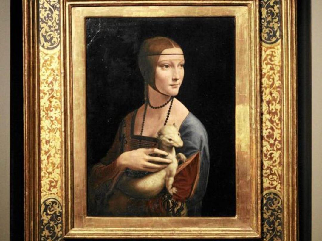 Lady with an Ermine by Da Vinci