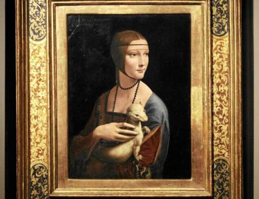 Lady with an Ermine by Da Vinci