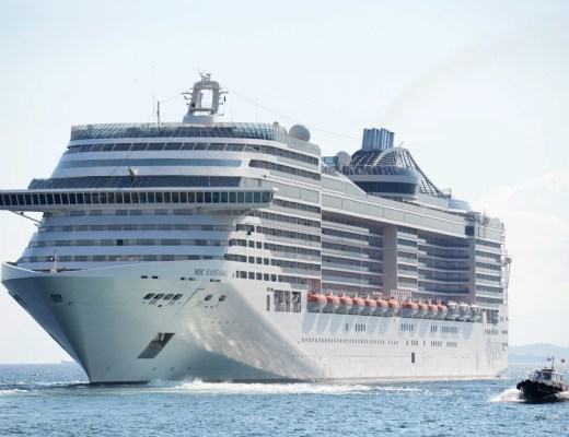 The MSC Fantasia is the biggest cruise ship to dock at Doha Port