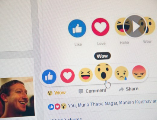 Facebook Reactions - Shutterstock