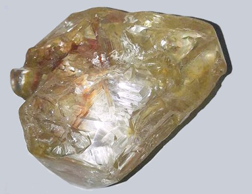 The 706-carat diamond, Sierra Leone - Saidu Bah - AFP