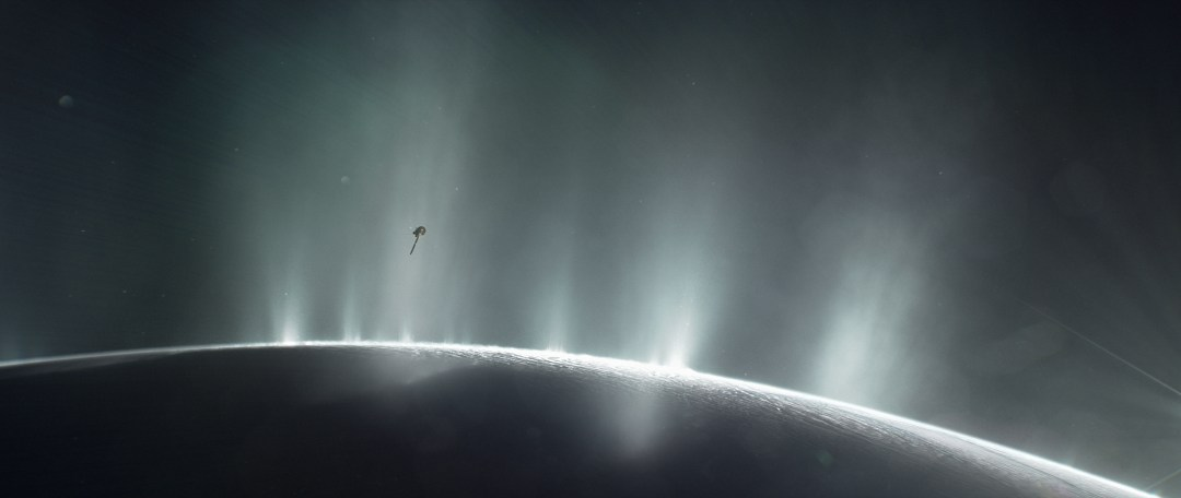 NASA Says Enceladus Can Support Life - NASA/JPL-Caltech