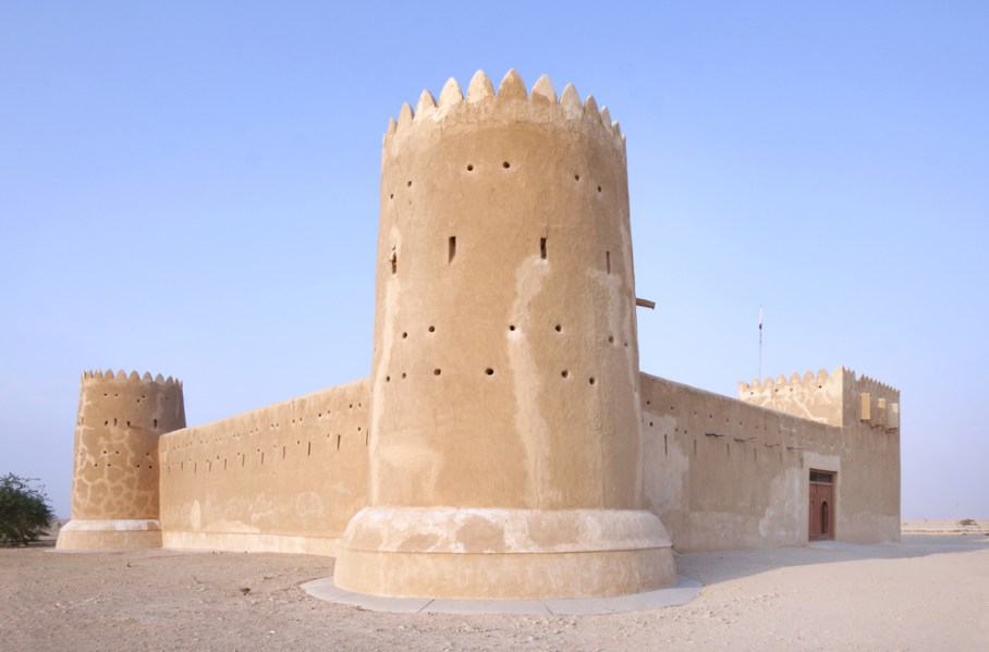 Zubarah fort in Qatar