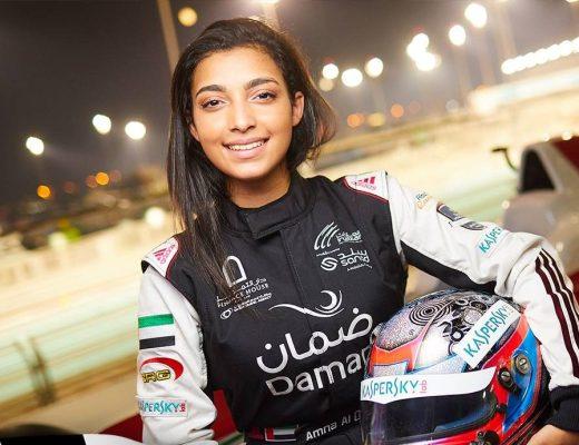 Amna Al Qubaisi - Facebook/Daman Speed Academy