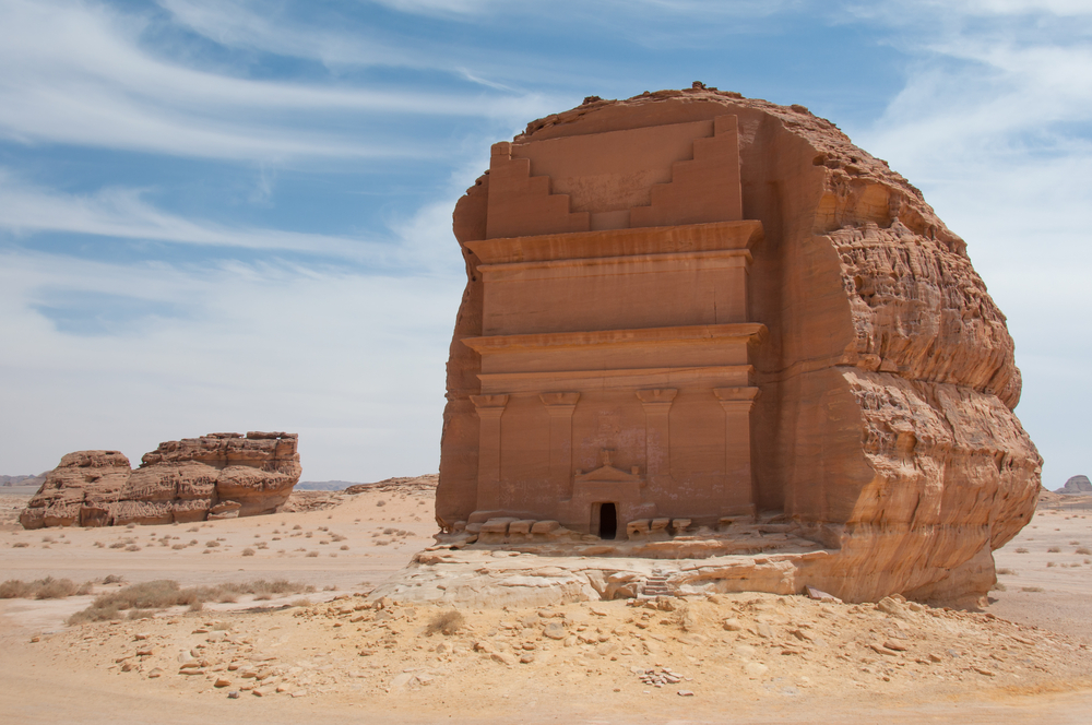 Qasr al-Farid or (The Lonely Castle) in Mada'in Saleh
