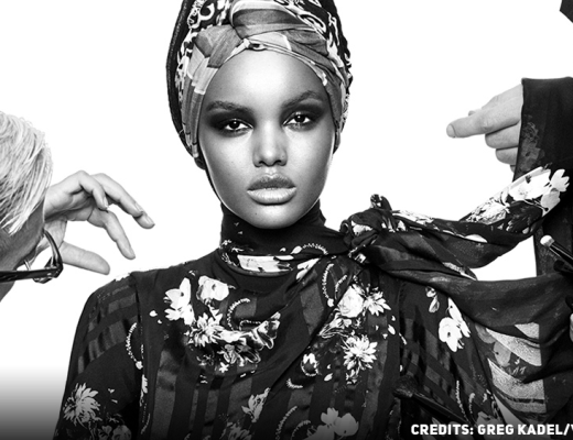 Halima Aden, the first hijabi woman on the cover of Vogue